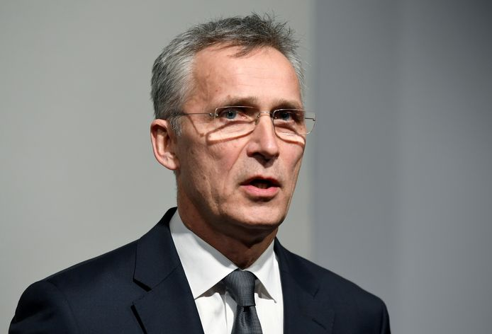 NAVO-topman Jens Stoltenberg.