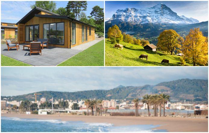 Tot rust komen tijdens een wandeling in Zwitserland, zonnen in de Costa Brava of liever een 'staycation' in eigen land? Er is voor elk wat wils.