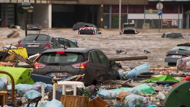 Cinq corps retrouvés à Verviers: la ville est sous eaux et la situation catastrophique