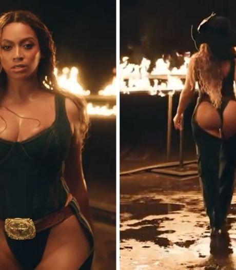 Beyoncé se la joue cowgirl ultra sexy pour sa nouvelle collection Ivy Park