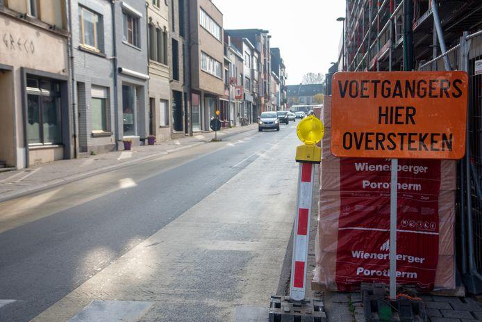 De inbrekers werden betrapt in de Nieuwstraat