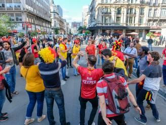 """Brusselse politiezones prediken tolerantie en sensibilisering tijdens EK-wedstrijden: """"Geen heksenjacht organiseren"""""""
