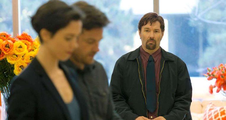 Vanaf links: Rebecca Hall, Jason Bateman en Joel Edgerton in The Gift van Joel Edgerton. Beeld