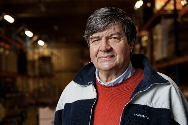 Ignace Bosteels heeft al jaren de West-Vlaamse afdeling onder zijn hoede. Beeld © Eric de Mildt