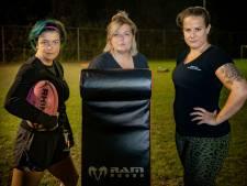 Lang, klein, dik, dun, traag, snel: de dames van The Black Panthers pionieren bij het rugby in Meppel