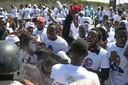Aanhangers van president Jovenel Moïse houden de regering verantwoordelijk voor de moord.