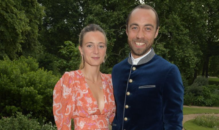 Alizee & James Middleton Beeld Getty Images