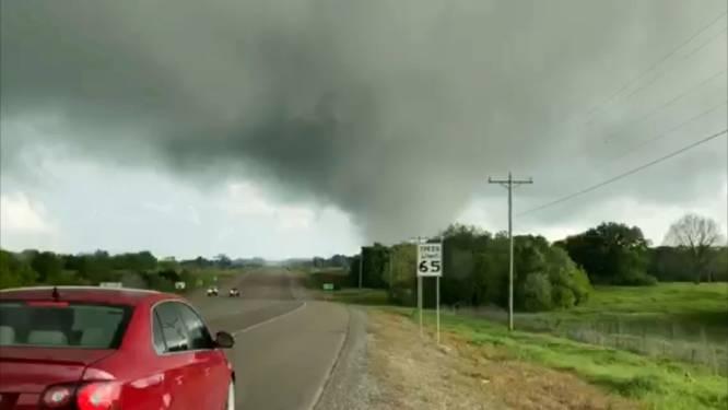 Uitbraak van tornado's op komst voor delen van Noord-Amerika