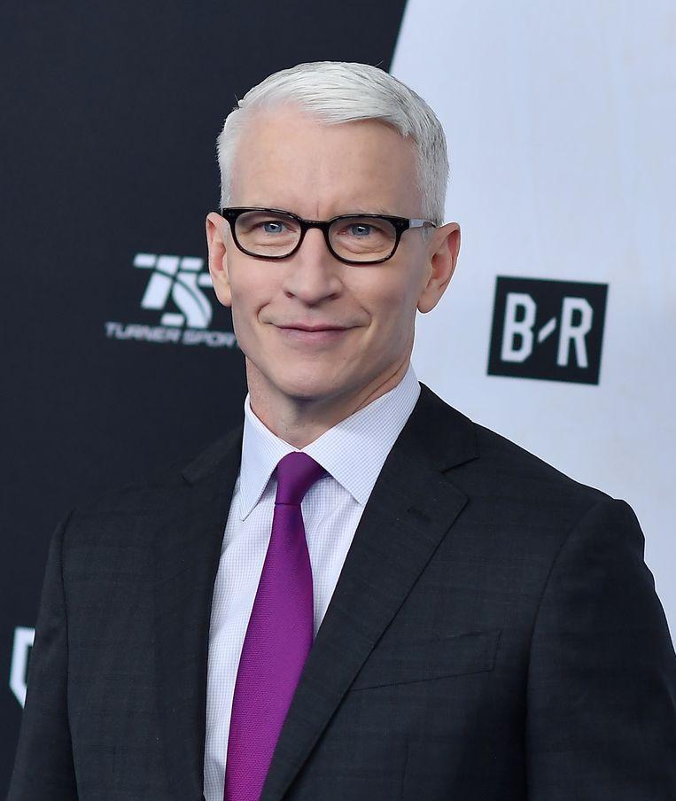 Anderson Cooper van CNN. Beeld AFP