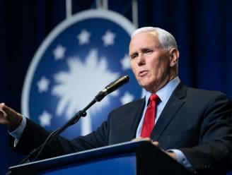 Pence steunt Trump in toespraak, oud-president lonkt naar gouverneur van Florida