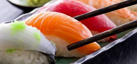 Wetenschappers werken aan sushi uit de printer