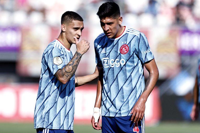 Antony en Álvarez. Beeld ANP