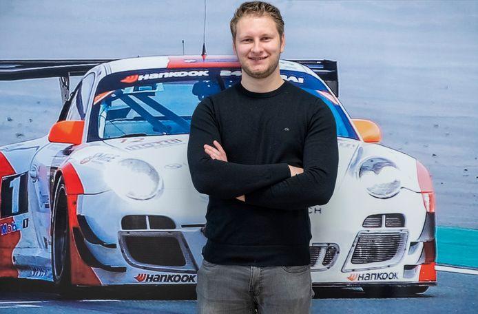 Autocoureur Rik Breukers uit Ven-Zelderheide.