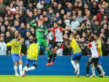 Voetbalgevecht met Feyenoord levert RKC heel knap een punt op