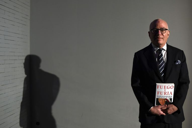 Michael Wolff. Beeld AFP