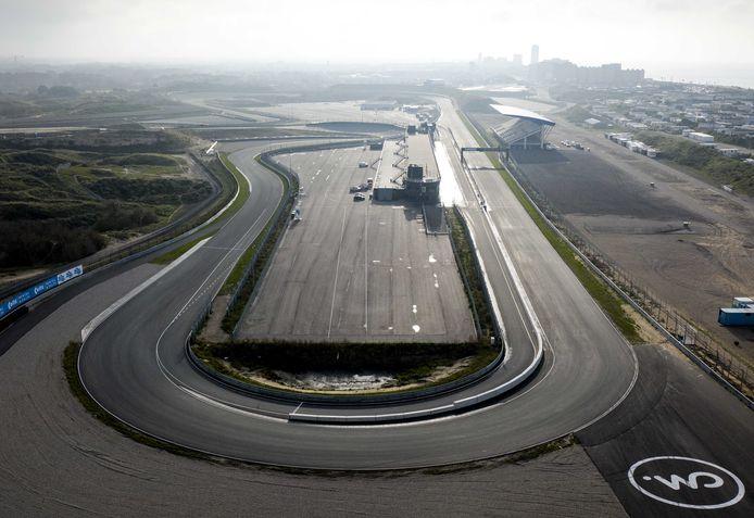 Het circuit van Zandvoort.