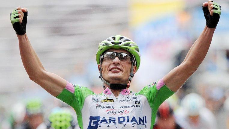Enrico Battaglin won verrassend. Beeld EPA