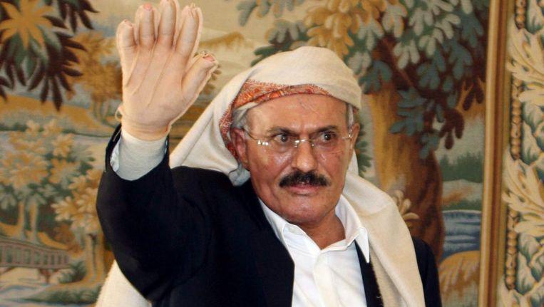 Ali Abdallah Saleh in 2011 Beeld epa