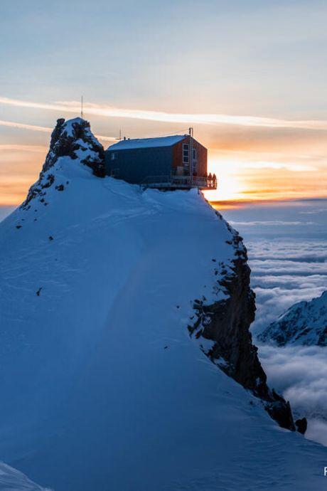 Gezocht: berghutwacht in de Alpen op 3450 meter hoogte