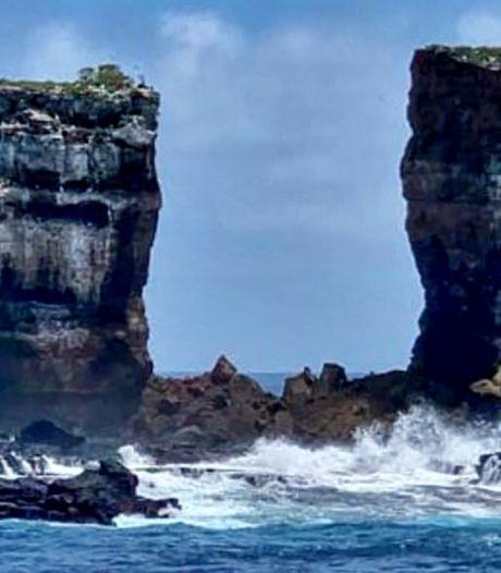 La célèbre arche de Darwin s'est effondrée aux Galápagos