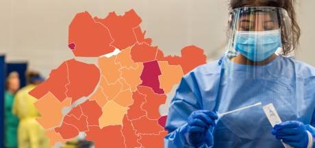 KAART | Aantal coronagevallen Oost-Nederland stijgt weer, Urk schiet omhoog