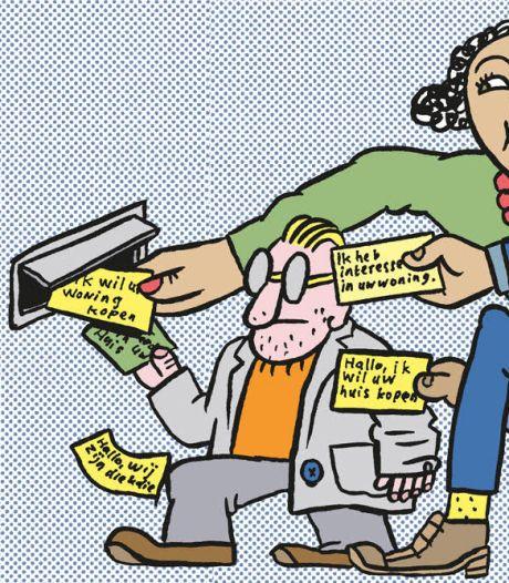 Gelikte flyers in Tilburgse brievenbussen: Gerrie en Robbie willen uw huis opkopen, tegen een 'eerlijke prijs'