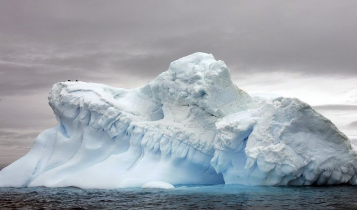 Gletsjer op Antartica.