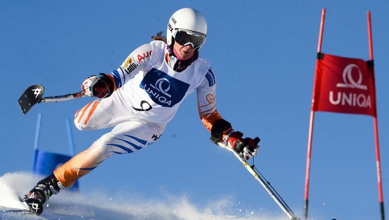 Anna Jochemsen, in december in Oostenrijk. Beeld ProShots