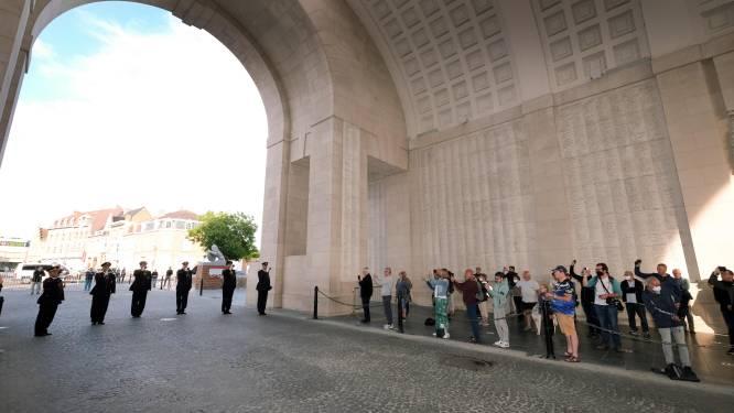 Woensdag opnieuw 400 bezoekers onder de Menenpoort voor Last Post