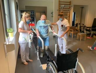 """Revalidatieteam van AZ Turnhout weer actief na jaar op Covid-afdeling: """"Het was zwaar, zowel fysiek als emotioneel"""""""