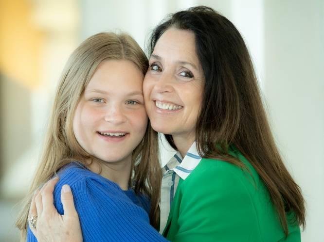 """Intiem dubbelgesprek met Wendy Van Wanten en dochter Estelle: """"Een leven zoals mama? Nee, dat wil ik niet"""""""