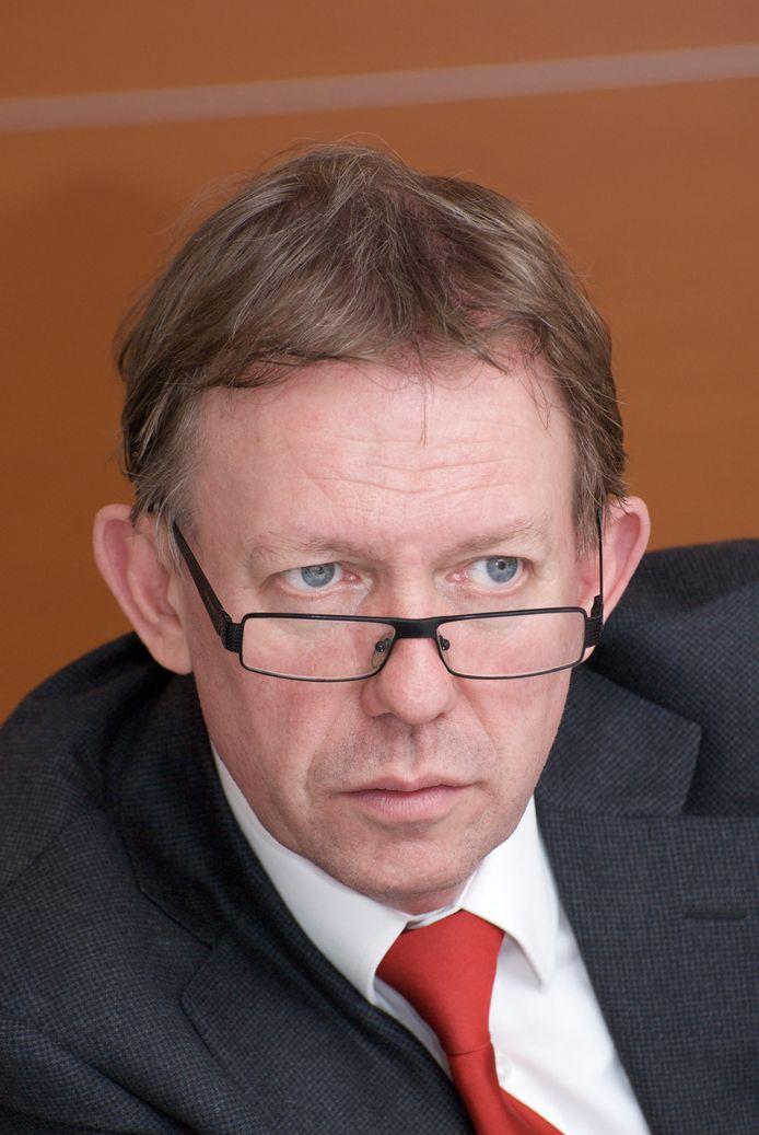 Peter Tielemans, hier nog actief als wethouder van Helmond