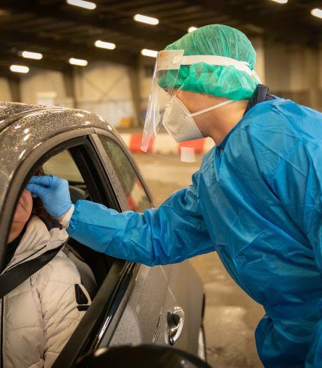 Minder testen, maar iets meer besmettingen in Zeeland