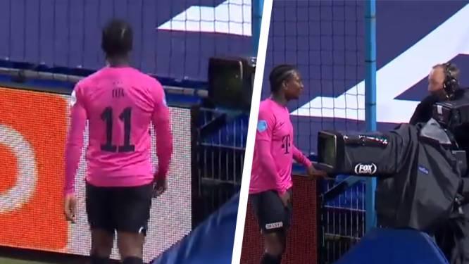 """Elia gaat over de tongen nadat hij cameraman opzoekt na match, maar vindt dat hij gezocht wordt: """"Het wordt steeds erger"""""""