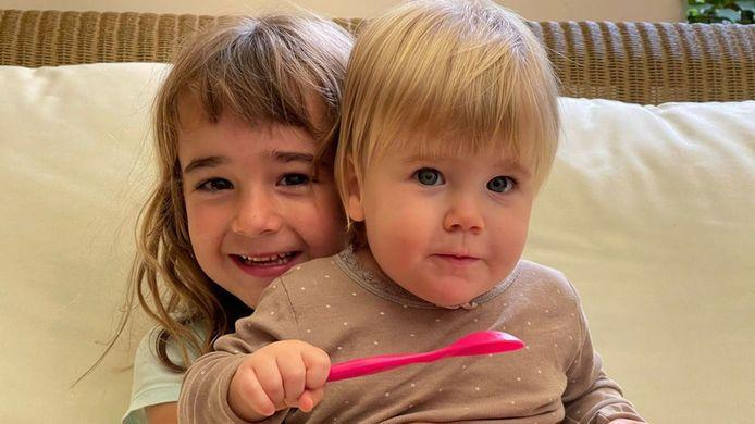 De 6-jarige Olivia en haar 1-jarige zusje Anna werden eind april op Tenerife ontvoerd door hun vader Tomás Gimeno.
