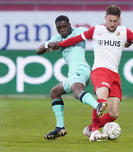 Willem II komt na spannende slotfase tegen FC Utrecht nét tekort voor een gelijkspel