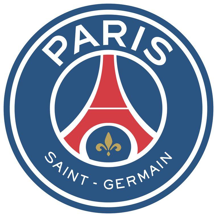 Het logo van PSG kreeg een opfrisbeurt. Beeld PSG