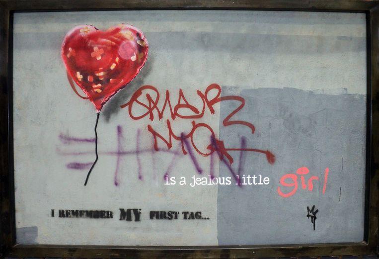 'Bandaged Heart': nog niet verkocht. Beeld AP