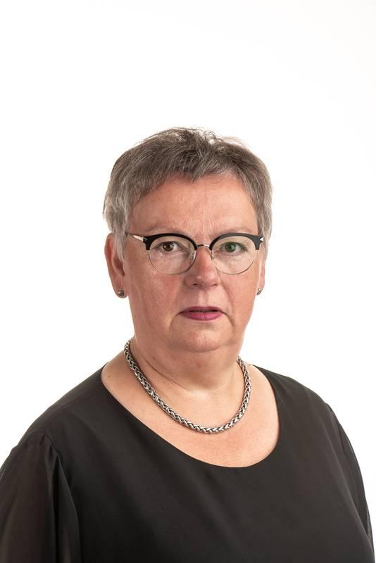 Ans Merkx, partijvoorzitter Heusden één.