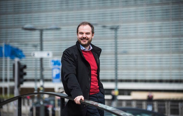 Dominique Ostyn van Press Club Brussels Europe is voorzichtig optimistisch dat het Europees Parlement net door de voorspelde turbulenties zijn slagkracht zal kunnen vergroten. Beeld Karel Duerinckx