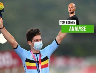 """Tom Boonen zag hoe Van Aert in een positie zat waarin hij niet kon winnen: """"Er was geen oplossing voor Wout"""""""