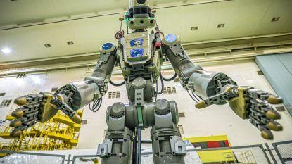 Rusland stuurt humanoïde robot Fiodor naar ISS