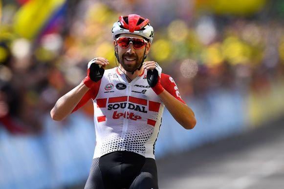 De Gendt won de achtste etappe naar Saint-Etienne