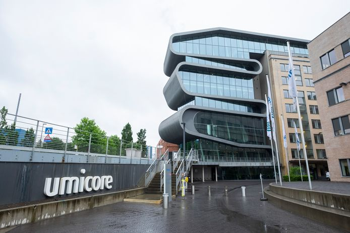 Umicore ging er 5,35 procent op vooruit.