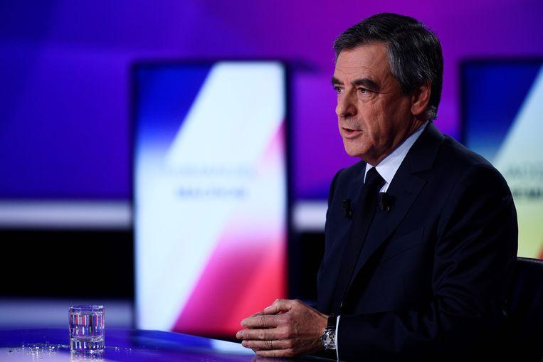 Francois Fillon Beeld AFP