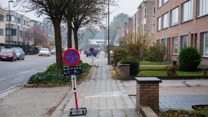 Onderhoud voetpaden Sint-Michielsstraat