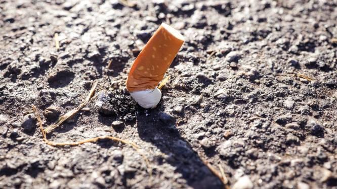 'Clean Walk' door voetgangerszone levert een ton afval en 65.000 sigarettenpeuken op