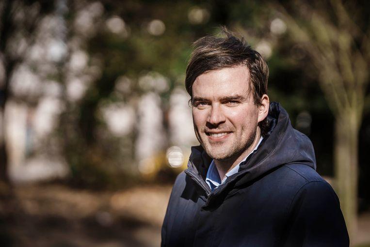 Mathias De Clercq, kandidaat-burgemeester voor Open Vld in Gent. Beeld Eric de Mildt