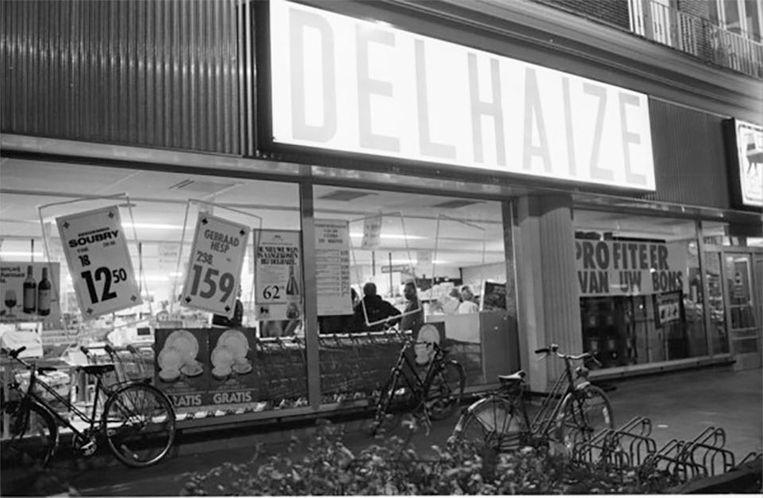 Op 9 november 1985 pleegde de Bende van Nijvel zijn laatste overval op de Delhaize in Aalst. Beeld belga