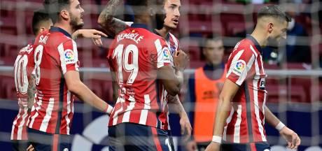 Atlético wipt met eenvoudige zege weer over Real heen